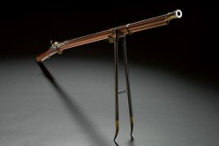 The musket is one of the earliest known firearms made by Chinese imperial armorers during the 18th century.