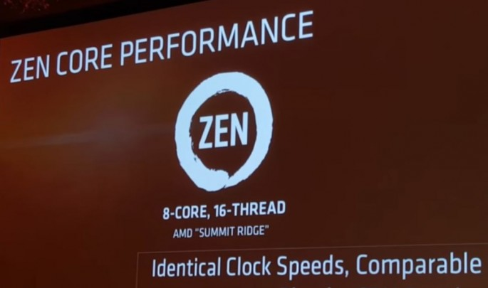 AMD Zen CPU only 75% as fast as Intel Broadwell E core