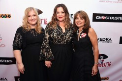 (L-R) Sarah Baker, Melissa McCarthy, and Lily Safani attend Gildafest '16 at Carolines On Broadway on July 12, 2016 in New York City.