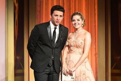 'Days of Our Lives' stars Billy Flynn and Jen Lilley present the Emmy for Outstanding Game Show Host at the 43rd Annual Daytime Emmy Awards on May 1, 2016 in Los Angeles, California.