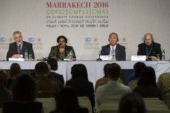 Minister Liu attended the climate conference in Marrakech, Morocco, where the implementation of the Paris Climate Agreement to address global warming has been discussed.