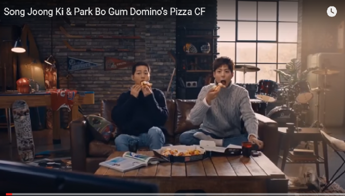 Is Less Bromance In New Domino's Pizza Advertisement In Re