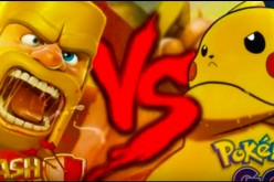 'Clash of Clans' battling 'Pokemon Go'.