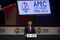 Chinese President Xi Jinping speaks about accelerating regional economic integration at the recent APEC summit in Lima, Peru.