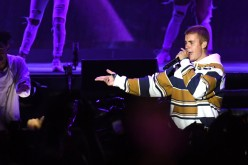 Justin Bieber perform at V Festival at Hylands Park on August 20, 2016 in Chelmsford, England.