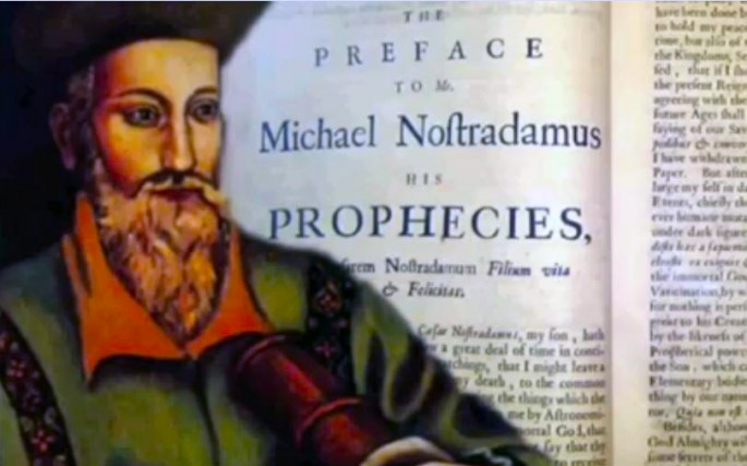 A preface to the prophecies of Nostradamus.