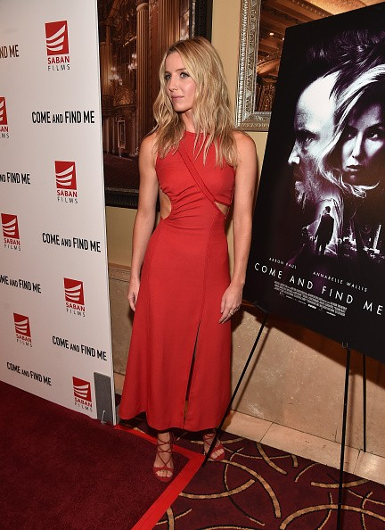 Actress Annabelle Wallis attends the premiere of Saban Films' 'Come And Find Me' at Pacific Theatre at The Grove on November 3, 2016 in Los Angeles, California.