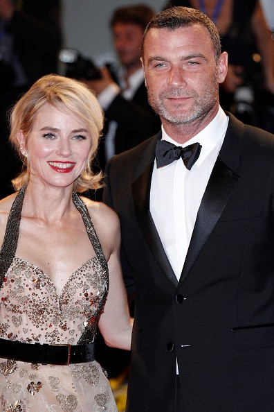 Naomi Watts and Liev Schreiber attend the premiere of 'The Bleeder' during the 73rd Venice Film Festival at Sala Grande.