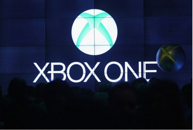 Guests attend the Microsoft Xbox One launch party at the Microsoft Center on November 21, 2013 in Berlin, Germany.