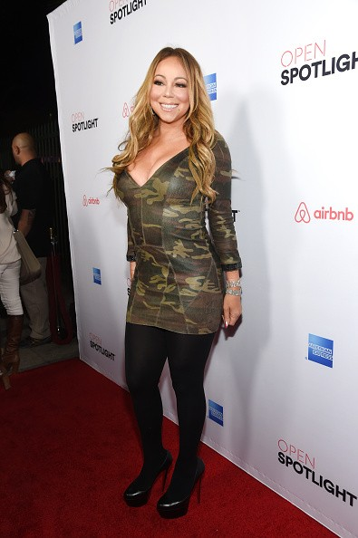 Singer Mariah Carey attends Open Spotlight at The Oasis during Airbnb Open LA - Day 3 on November 19, 2016 in Los Angeles, California.