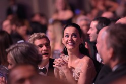 Orlando Bloom and Katy Perry attend the 12th annual UNICEF Snowflake Ball at Cipriani Wall Street on November 29, 2016 in New York City.
