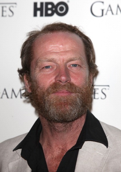 Iain Glen attends the DVD launch of the complete first season of 'Game Of Thrones' at Old Vic Tunnels on February 29, 2012 in London, England.    Getty Images/Tim Whitby