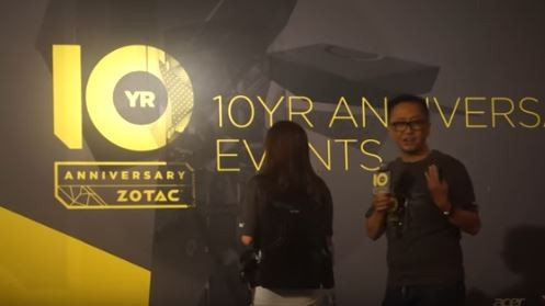 ZOTAC introduces their VR GO backpack PC.
