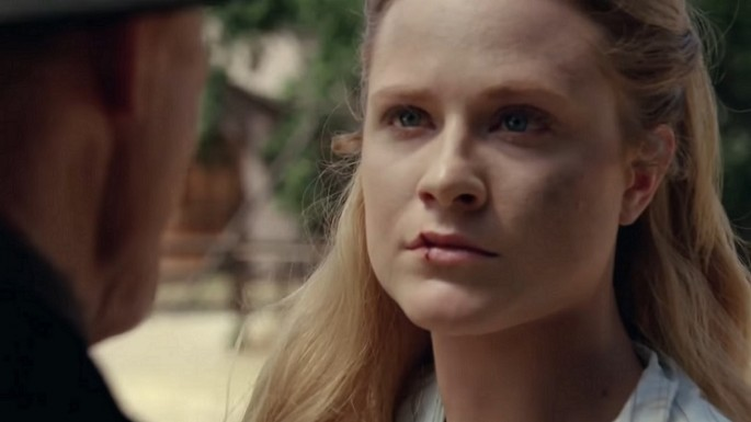 "Evan Rachel Wood as Dolores in the trailer for the ""Westworld"" season 1 finale"