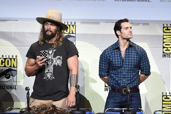 Jason Momoa will join Henry Cavill as one of the DC characters to have his own film with 'Aquaman' set to be released in 2018.