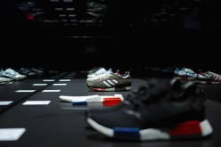 A general view of atmosphere at the Adidas Originals NMD global unveiling at the 69th Regiment Armory on December 9, 2015 in New York City.