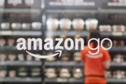 A screen shot of the logo of the newly launched Amazon Go