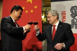 Xi and Branstad in 2012.