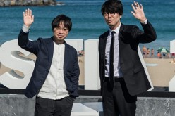 Director Makoto Shinkai and productor Genki Kawamura attend 'Kimi No Na Wa (Your Name)' photocall during 64th San Sebastian Film Festival on September 24, 2016 in San Sebastian, Spain.