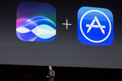 Craig Federighi, Apple's senior vice president of Software Engineering, introduces the new iOS software at an Apple event at the Worldwide Developer's Conference on June 13, 2016 in San Francisco, Cal
