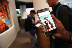 A new Google Pixel XL phone is displayed at the Google pop-up shop in the SoHo neighborhood on October 20, 2016 in New York City.