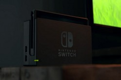 A docked Nintendo Switch is used as a home console.