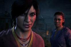 Chloe Frazer and Nadine Ross in a scene from the gameplay trailer of