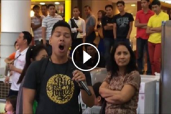 Amiel Orio from Philippines singing