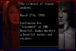 "Part of the plot from the game ""The Silver Case"""