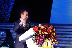 Wanda Group Chairman Wang JianlinWang Jianlin, chairman of Wanda Group, speaks during the signing ceremony in Beijing as Wanda Cultural Industry Group buys Legendary Entertainment in January.