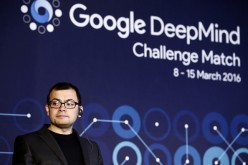 Demis Hassabis on a press conference at the Google DeepMind Challenge Match.