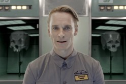 Michael Fassbender as the android David