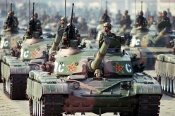 Type 98 main battle tanks of the People's Liberation Army Ground Force.