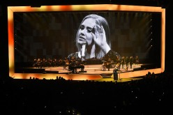 Singer and songwriter Adele performs at Talking Stick Resort Arena on August 16, 2016 in Phoenix, Arizona.
