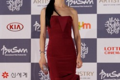 Actress Han Hye-Jin arrives for the opening ceremony of the 17th Busan International Film Festival (BIFF) at the Busan Cinema Center on October 4, 2012 in Busan, South Korea.