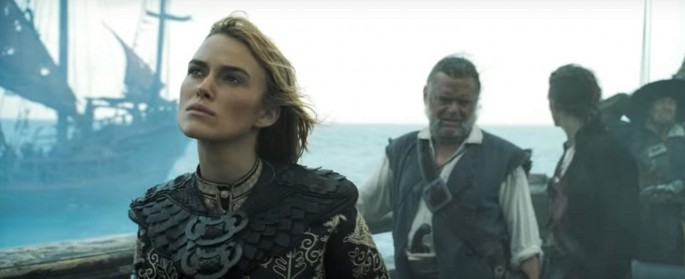 Keira Knightley as Elizabeth Swann in 'Pirates of the Caribbean: At World's End'