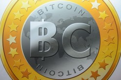 Bitcoin virtual currency sign