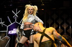 Singer Britney Spears performs onstage during 102.7 KIIS FM's Jingle Ball 2016 presented by Capital One at Staples Center on December 2, 2016 in Los Angeles, California.