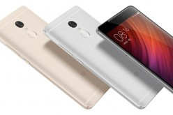 The gold, silver and grey variants of the Redmi Note 4.