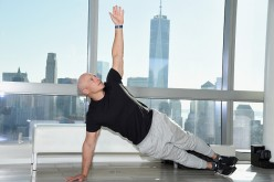 Celebrity fitness trainer Harley Pasternak (pictured) and stylist to the stars Anita Patrickson help introduce Fitbit Alta, a slim, sleek fitness wristband that can be personalized to fit your style o