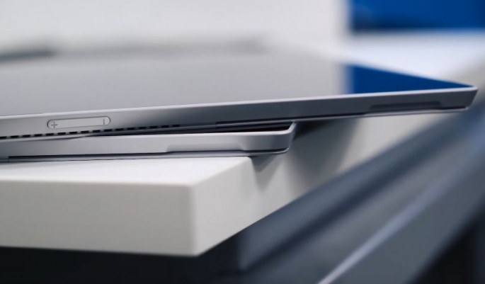 The Surface Pro 4 is the latest in Microsoft's hybrid tablet laptop line.