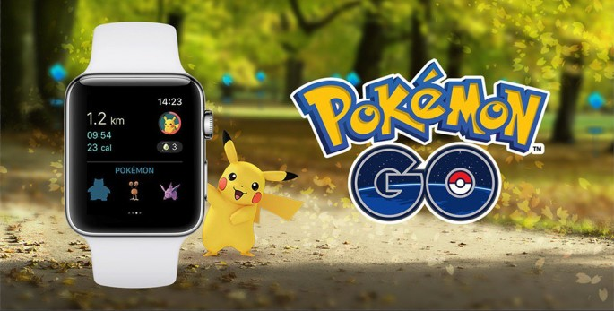'Pokemon Go' for Apple Watch