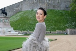 Zhang Ziyi arrives for a dinner to celebrate the work of The Royal Marsden hosted by the Duke of Cambridge at Windsor Castle on May 13, 2014 in Windsor, England.