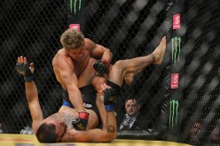 Sage Northcutt unleashes brutal ground and pound against Enrique Marin at UFC 200.