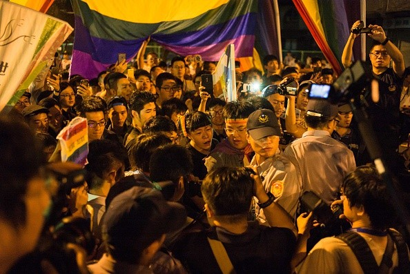 Taiwanese Gather For Same Sex Marriage Rally