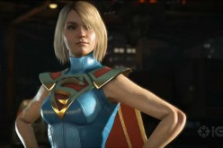 Supergirl is one of the heroes in the fighting game 'Injustice 2.'