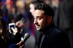 'A Monster Calls' director J.A. Bayona attends the 60th BFI London Film Festival at the May Fair Hotel Gala.