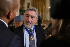 Robert de Niro was awarded with the Presidential Medal of Freedom along with 20 other influential figures last Nov. 22, 2016.