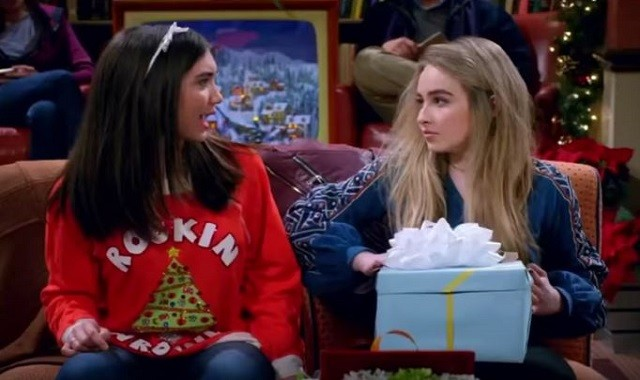 Rowan Blanchard and Sabrina Carpenter star in the Disney channel series 'Girl Meets World.'