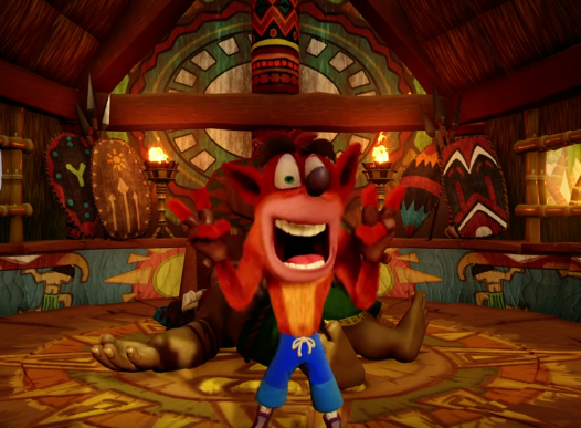 'Crash Bandicoot' is a video game created by Andy Gavin and Jason Rubin during their tenure at Naughty Dog for Sony Computer Entertainment.